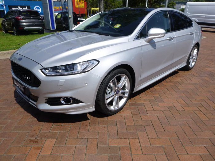 2018 Ford Mondeo Titanium MD MY18.75 Silver