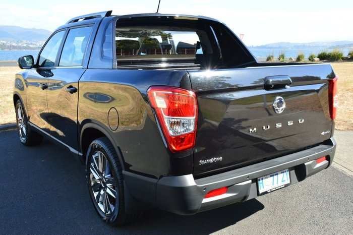 2018 SsangYong Musso Ultimate Q200 4X4 Dual Range space black