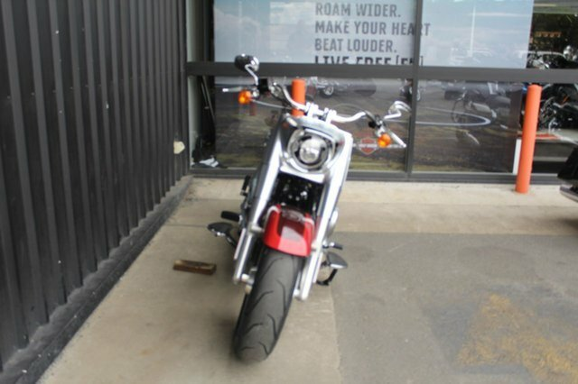 2018 Harley-davidson FLFBS FAT BOY S (114) Wicked Red/Twisted Cherry