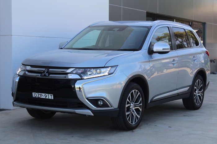 2016 Mitsubishi Outlander LS ZK MY17 4X4 On Demand Silver
