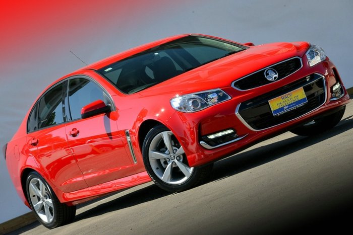 2015 Holden Commodore SV6 VF Series II MY16 RED