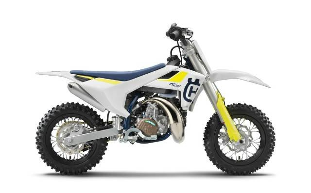 2019 HUSQVARNA 50 MINI MINI BIKE WHITE