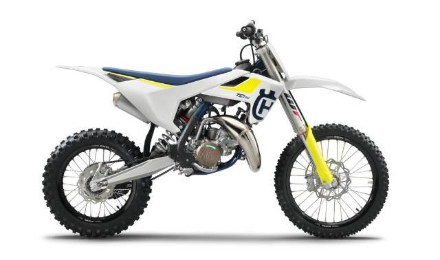 2019 HUSQVARNA TC 85 SW MINI BIKE WHITE