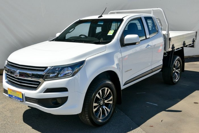 2017 Holden Colorado LS RG MY17 SUMMIT WHITE