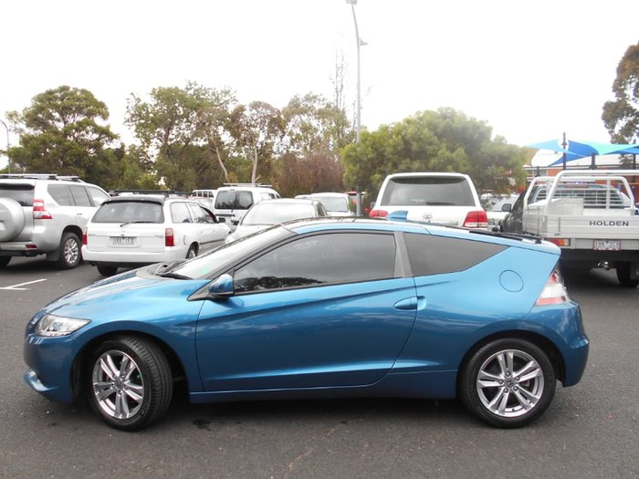 2013 Honda CR-Z ZF MY13 Blue