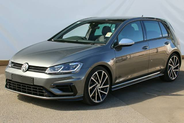 2018 Volkswagen Golf R 7.5 MY19 INDIUM GREY