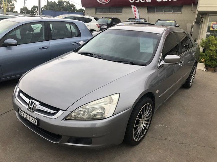 2007 Honda Accord VTi 7th Gen MY07 Silver