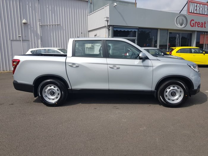 2018 SsangYong Musso EX Q200 4X4 Dual Range Silver