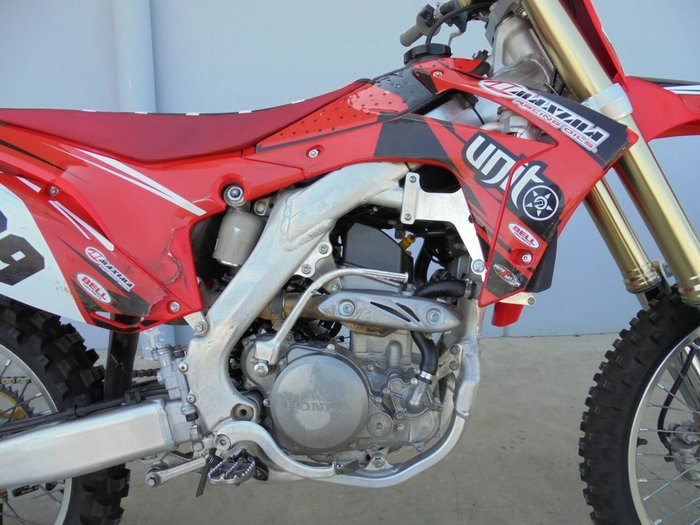 2016 Honda CRF250R Red