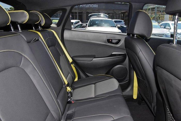 2018 Hyundai Kona Elite OS MY18 4X4 On Demand Black