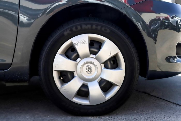 2007 Toyota Yaris YRS NCP93R Grey