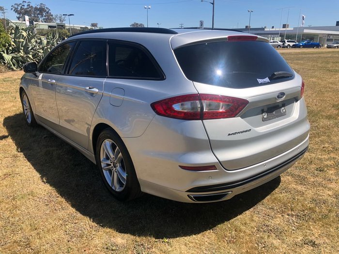 2015 Ford Mondeo AMBIENTE MD Silver