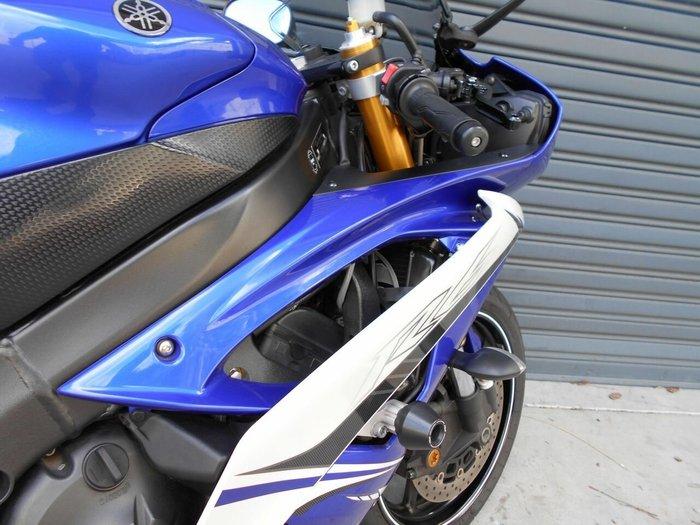 2011 Yamaha YZF-R6 Blue/White