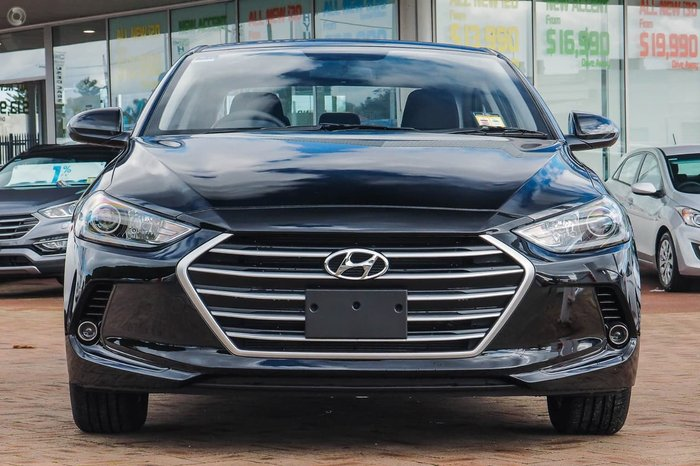 2018 Hyundai Elantra Active AD MY18 Black
