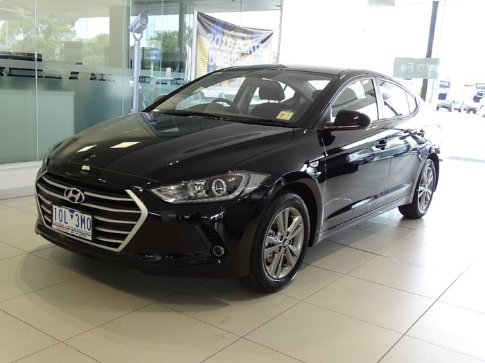 2018 Hyundai Elantra Active AD MY18 Black