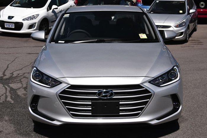 2018 Hyundai Elantra Active AD MY18 Silver