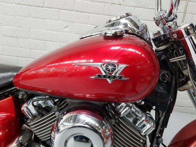 2007 Yamaha XVS650A V-STAR CLASSIC Red