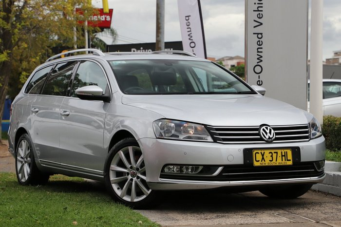 2014 Volkswagen Passat 130TDI Highline Special Model Type 3C MY15 SILVER