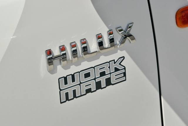 2013 Toyota Hilux Workmate TGN16R MY12 TGN16R