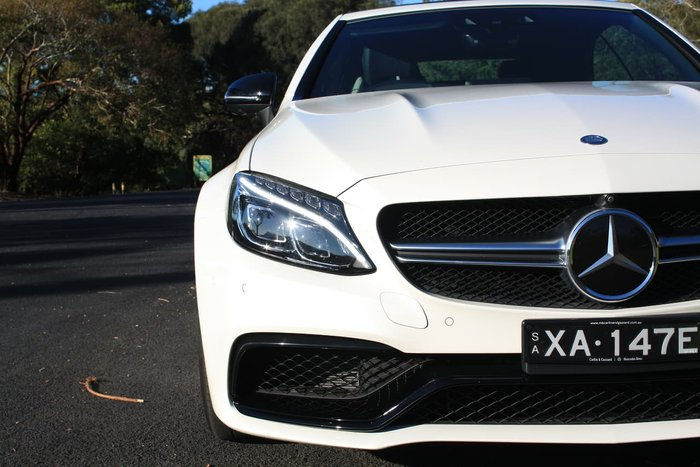2017 Mercedes-Benz C63 AMG S A205 White
