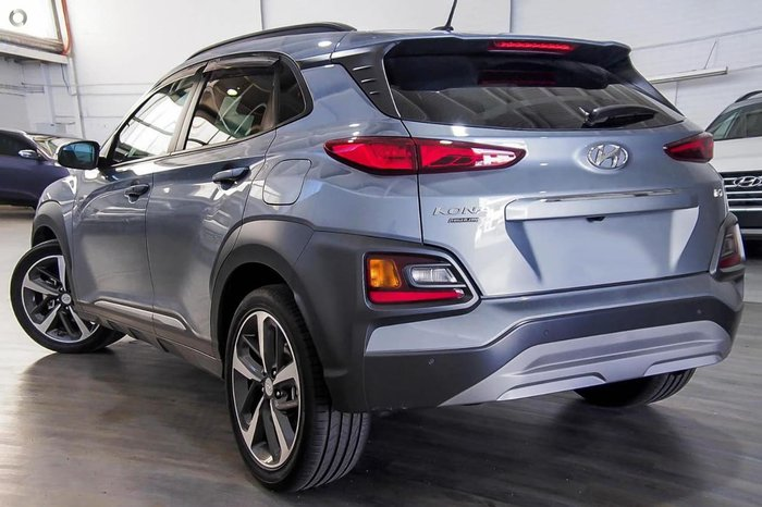 2018 Hyundai Kona Highlander OS MY18 4X4 On Demand Silver