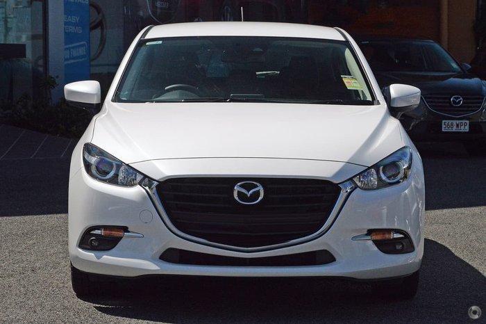 2018 Mazda 3 SP25 BN Series White