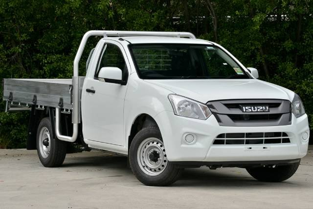 2018 Isuzu D-MAX SX MY18 WHITE SPLASH
