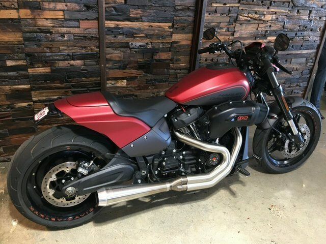 0 Harley-Davidson 2019 HARLEY-DAVIDSON 1868CC FXDRS FXDR 114 Wicked Red Denim