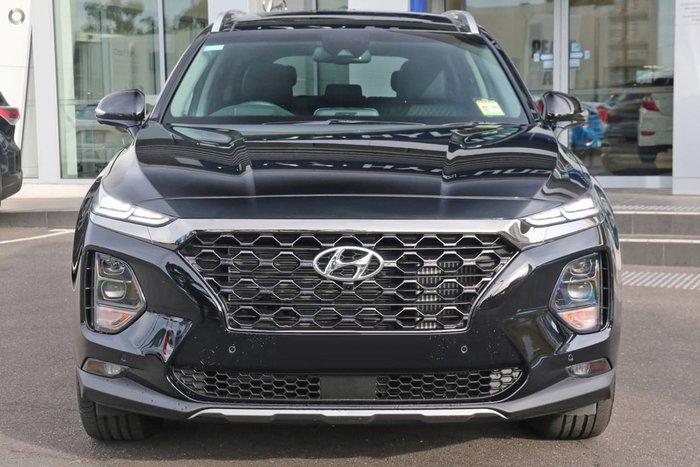 2018 Hyundai Santa Fe Highlander TM MY19 4X4 On Demand Black