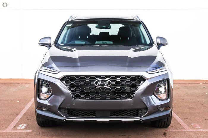 2018 Hyundai Santa Fe Highlander TM MY19 4X4 On Demand Grey