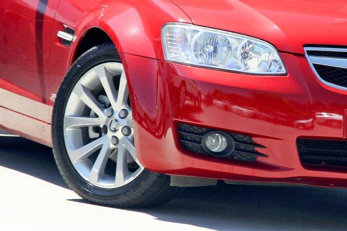 2010 Holden Berlina International VE Series II Red