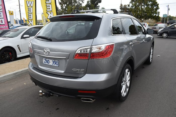 2012 Mazda CX-9 Grand Touring TB Series 4 MY12 Silver