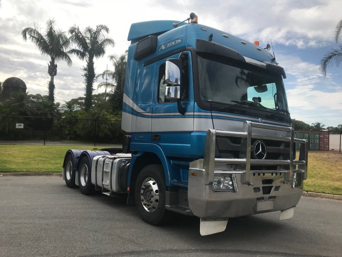 2013 Mercedes Benz 2660 Actros Blue