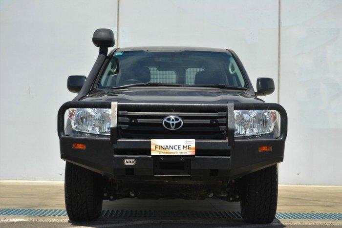 2014 Toyota Landcruiser GX VDJ200R MY13 4X4 Dual Range GRAPHITE