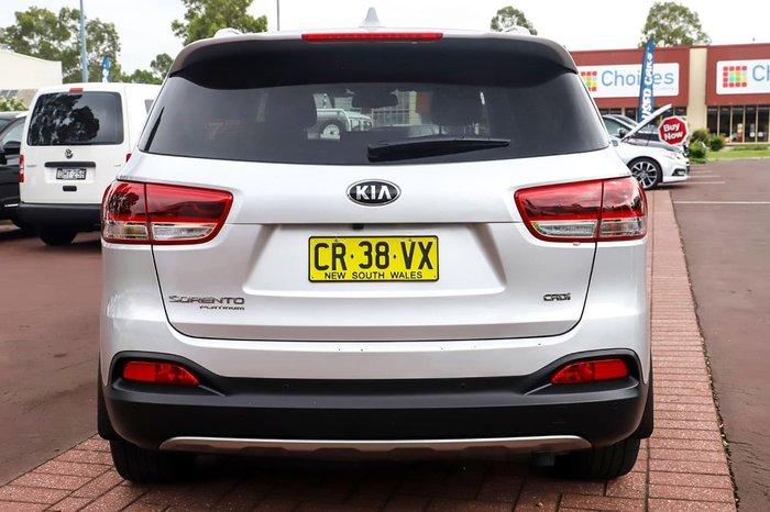 2017 Kia Sorento Platinum UM MY17 4X4 On Demand Silver