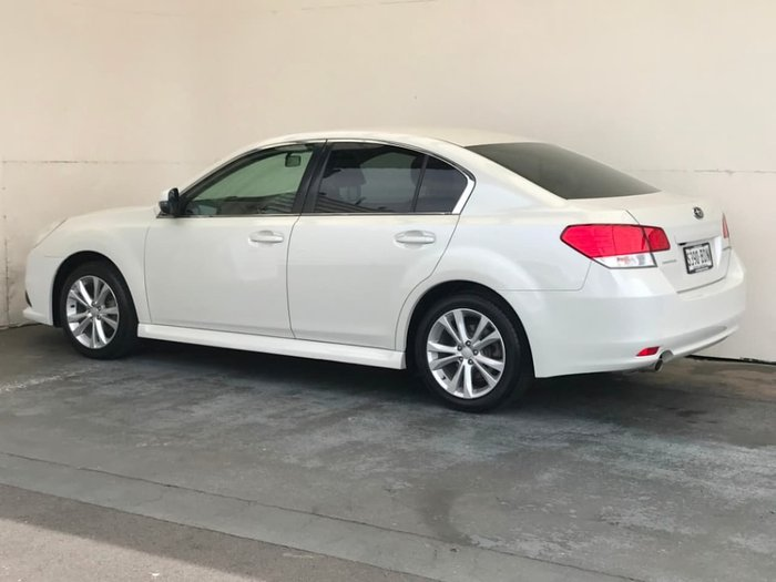 2014 Subaru Liberty 2.5i 5GEN MY14 White