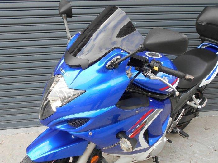 2007 Suzuki GSX650F Blue