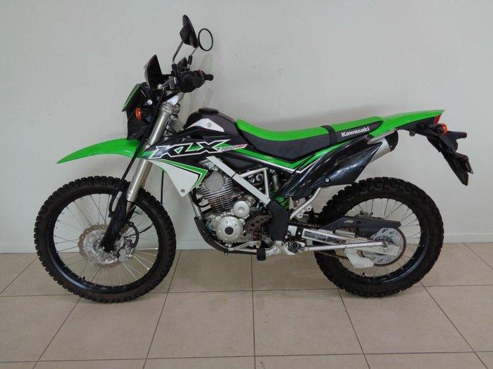 2016 Kawasaki KLX150BF Green