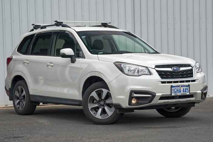 2016 Subaru Forester 2.5i-L S4 MY16 AWD WHITE