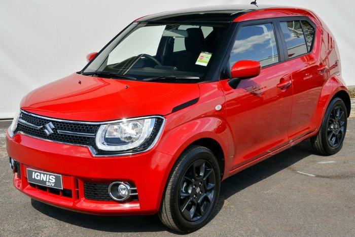 2019 SUZUKI IGNIS GLX MF RED/BLACK