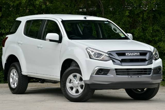 2018 Isuzu MU-X LS-M MY18 WHITE SPLASH
