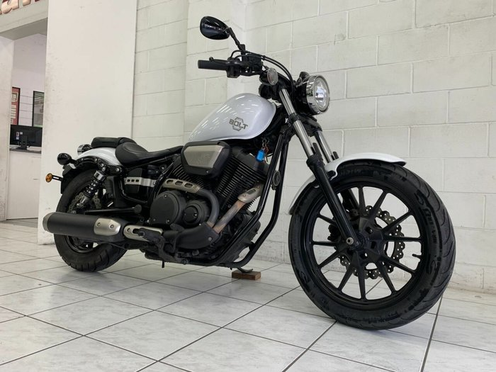 2014 Yamaha BOLT White