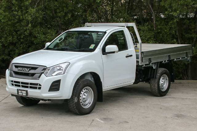 2018 Isuzu D-MAX SX High Ride MY18 WHITE SPLASH