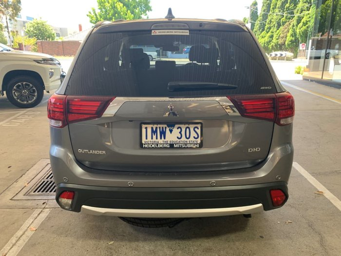 2017 Mitsubishi Outlander LS Safety Pack ZK MY18 4X4 On Demand Grey