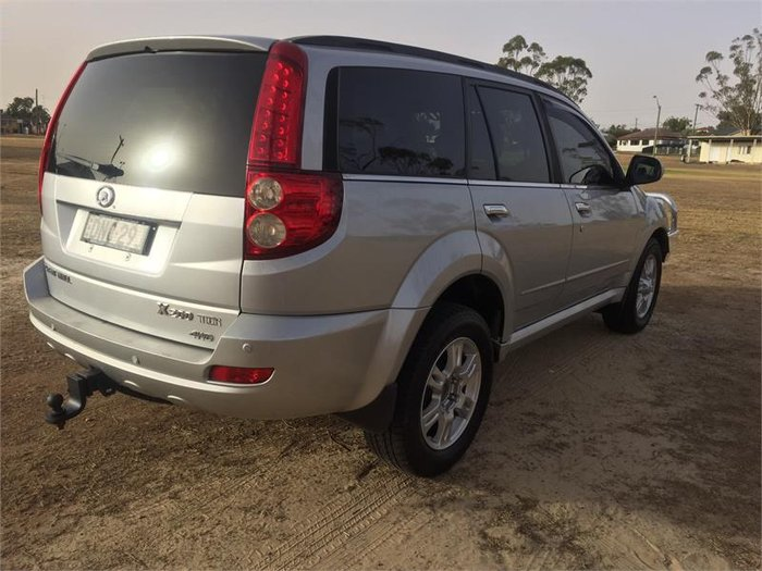 2013 Great Wall X200 K2 MY13 Silver