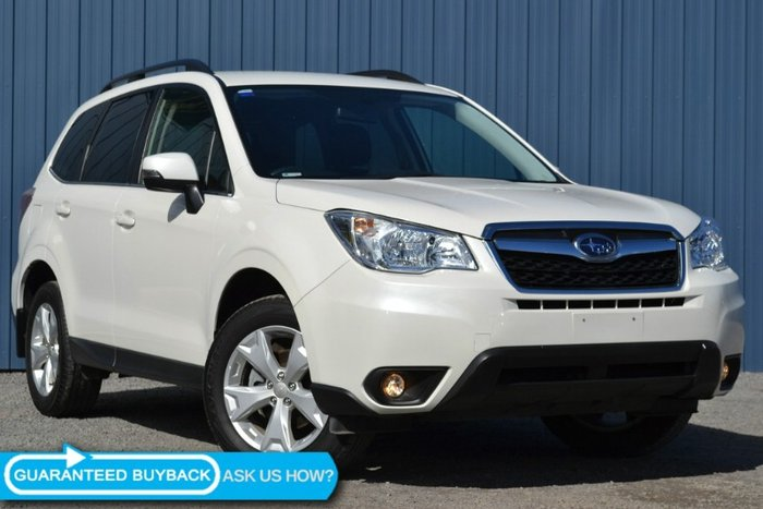2015 Subaru Forester 2.5i-L S4 MY15 CRYSTAL WHITE PEARL