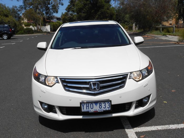2011 Honda Accord Euro Luxury 8th Gen MY11 White