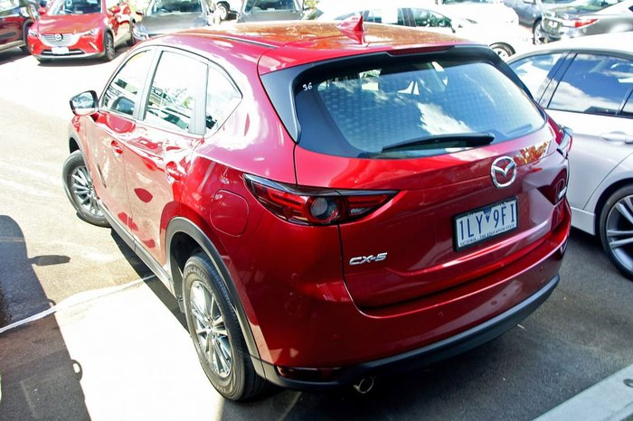2017 Mazda CX-5 Maxx Sport KF Series Red