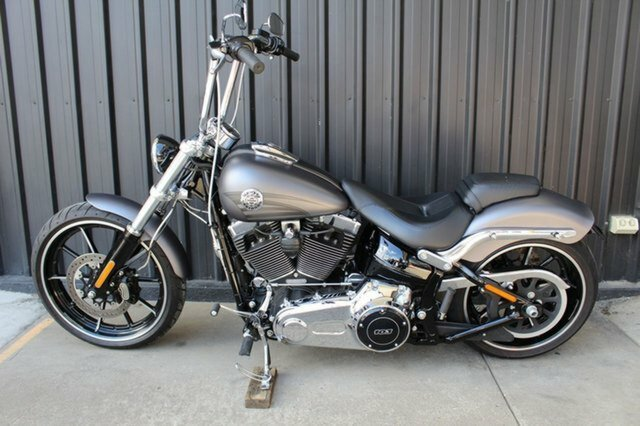 2016 Harley-davidson FXSB SOFTAIL BREAKOUT Charcoal Denim