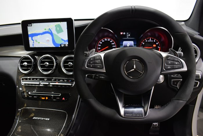 2018 Mercedes-Benz GLC63 AMG S X253 White